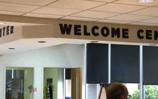 3D Welcome Sign