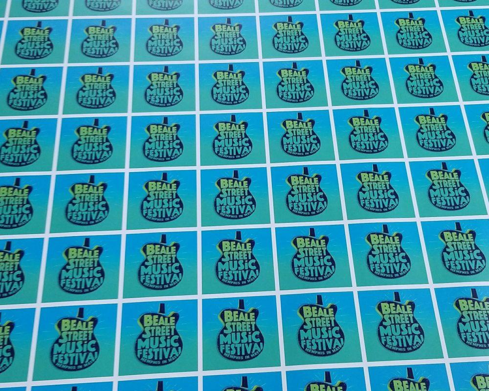 Beale Street Music Fest Stickers