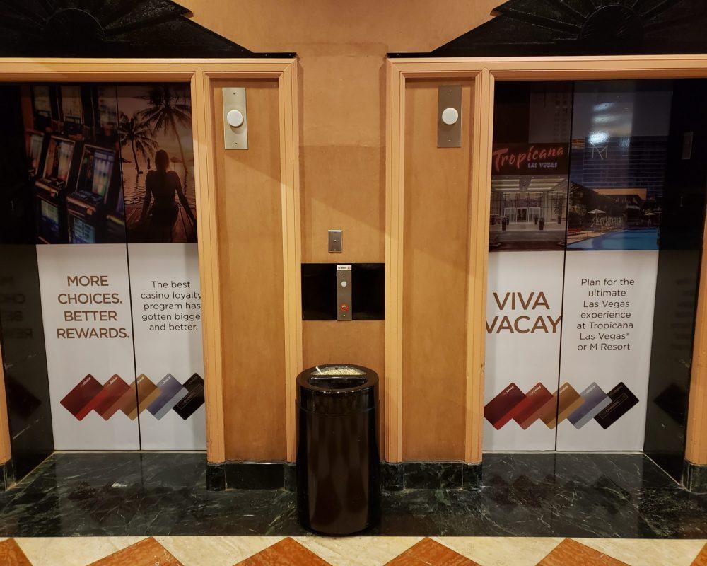 Hollywood Casino Elevator Wrap 1