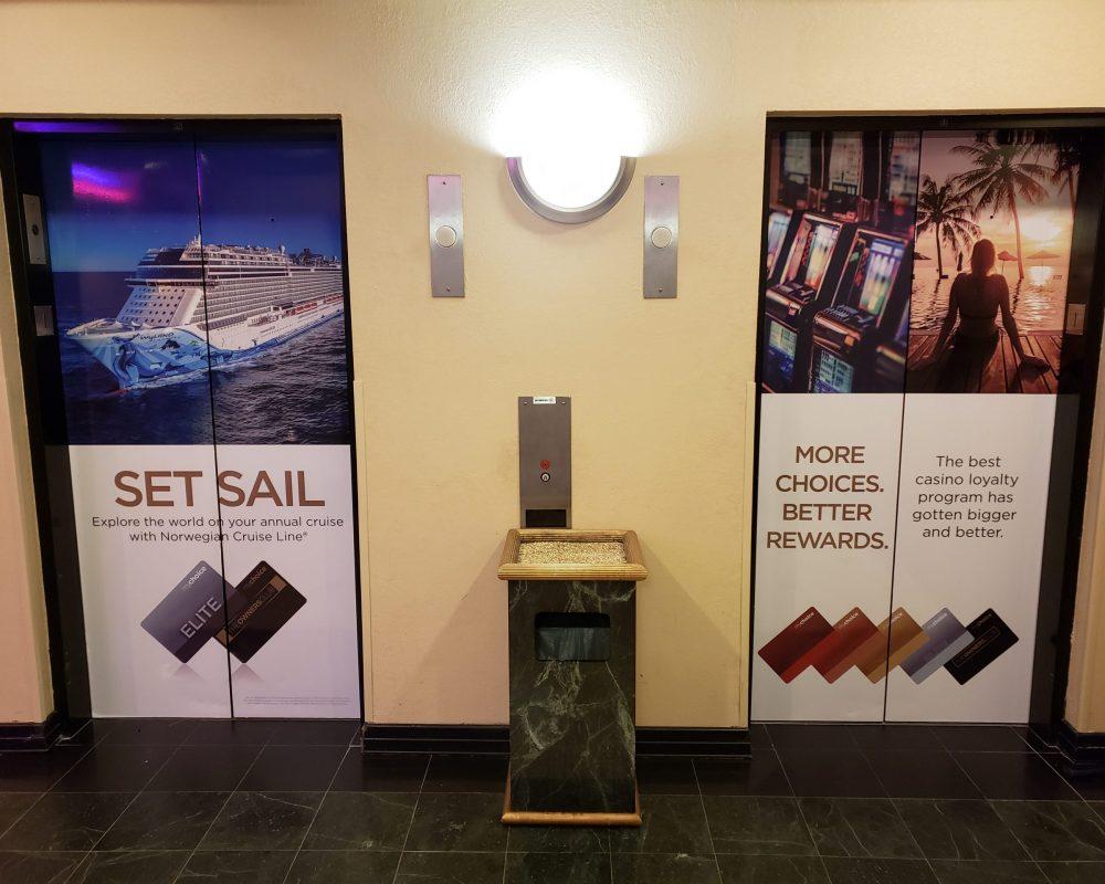 Hollywood Casino Elevator Wrap 2