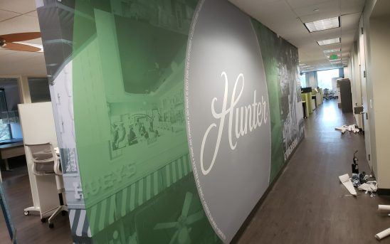 Hunter Indoor Wall Mural