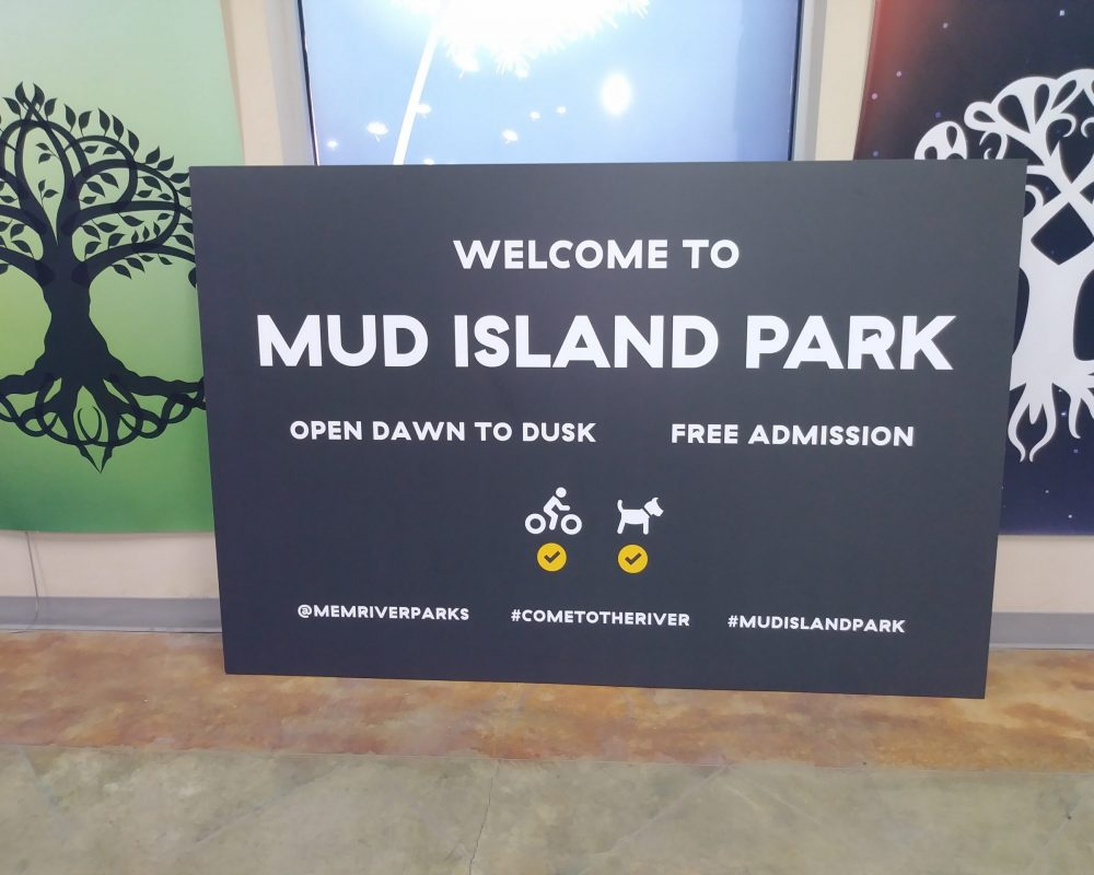 Mud Island Sign Pic