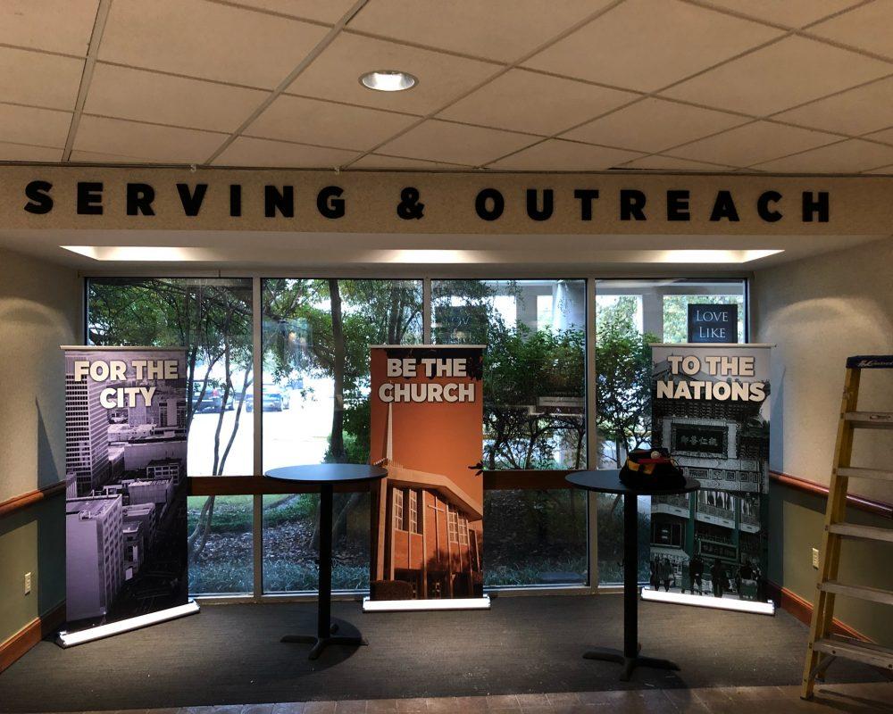 Serving & Outreach Pics