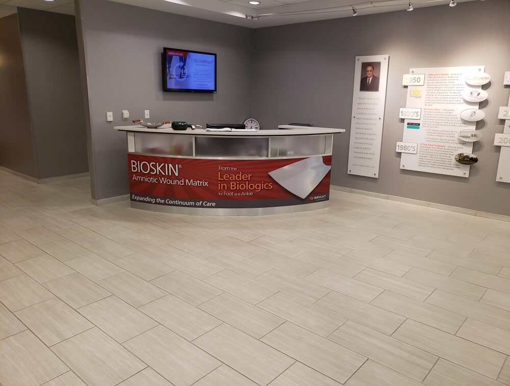 Wright Front Desk Wrap